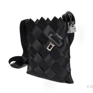 Taška z recyklovaných pásů