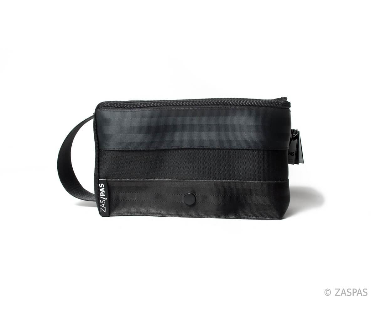 Kosmetická taška z recyklovaných pásů